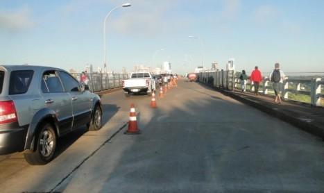 Pista da Ponte da Amizade será liberada na sexta-feira