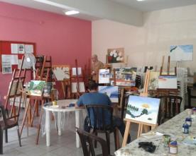 DEP.  DE AÇÃO SOCIAL CONVIDA: Curso de Pintura em Tela